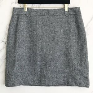 Talbots | 16 Grey Wool Blend Pencil Skirt